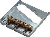 WT3 C - Ponte fisso per chitarra elettrica tipo Tele - Cromato