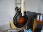 Verniciatura mandolino